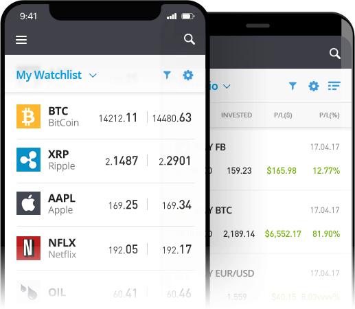 eToro APP Download → Dispositivos Android y iOS